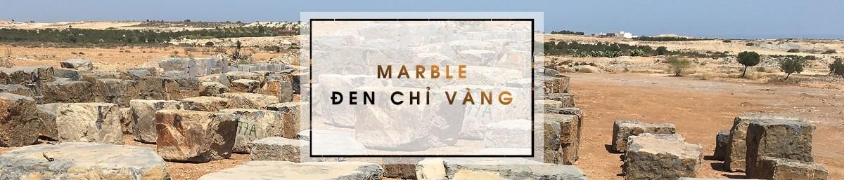 Marble đen chỉ vàng